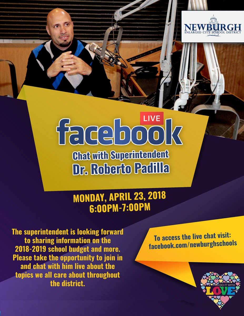 Facebook Chat Flyer