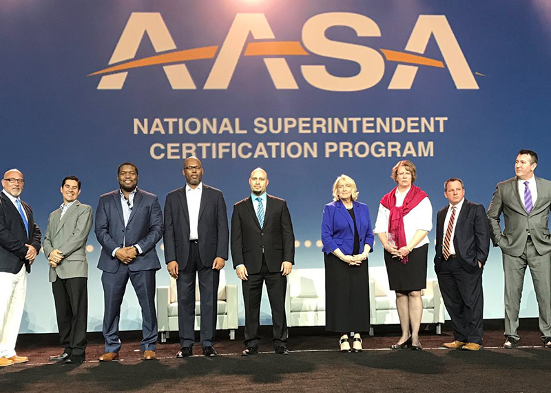 Superintendent at AASA Conference