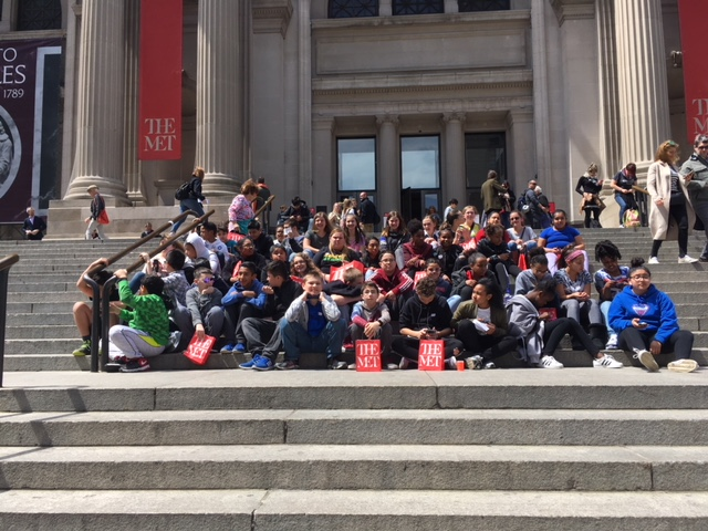 Thumbnail for Students from South Middle School visit Metropolitan Museum of Art