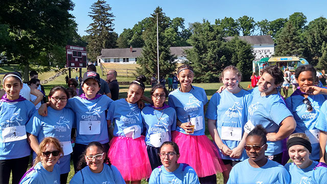 Group shot from Girls on the run