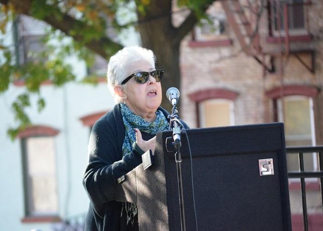 Carole Mineo speaking