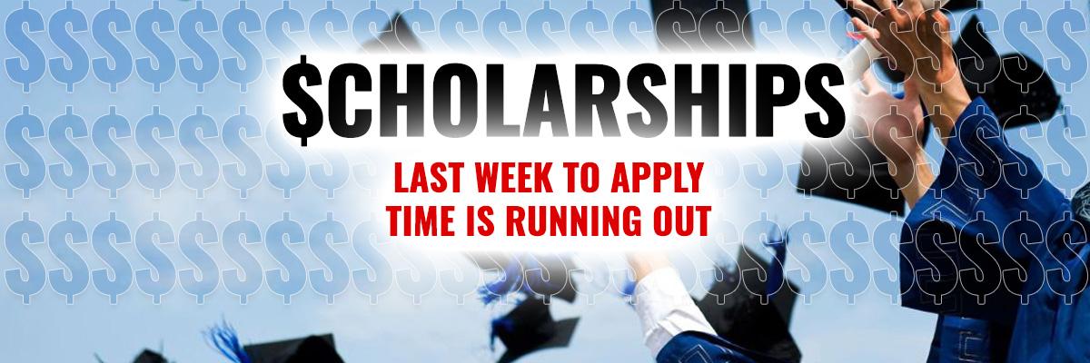 Scholarship Last Week To Apply