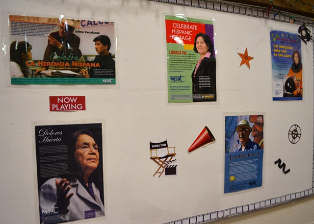 Hispanic Heritage Month Bulletin Board