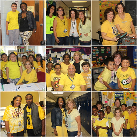 MH Anti bullying Collage Yellow