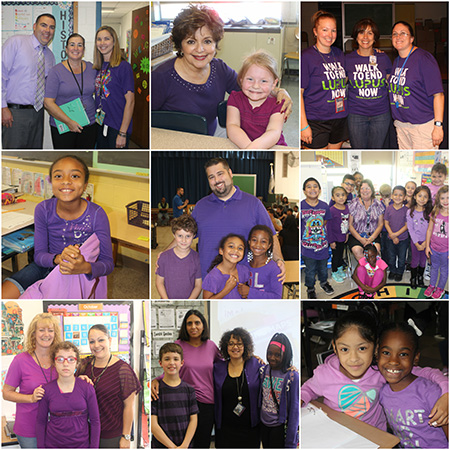 MH Anti bullying Collage Purple