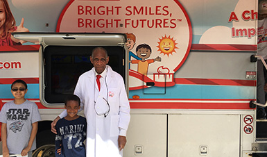 Thumbnail for Temple Hill Academy Receives Visit from Dental Van.