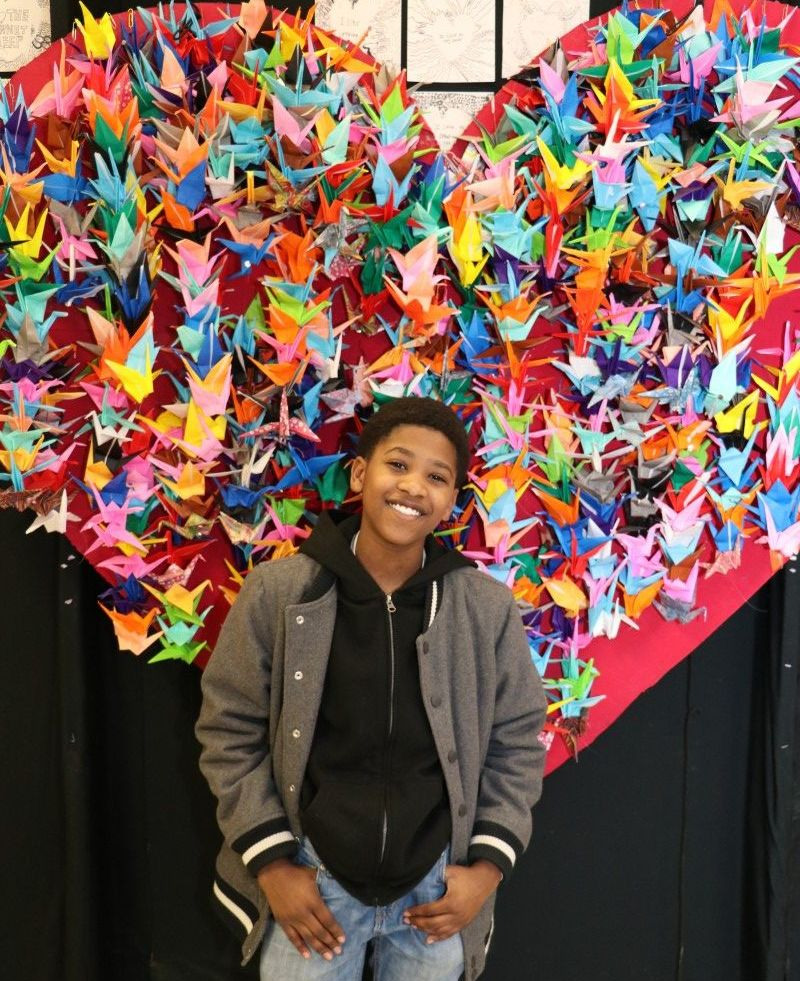 "Elisha McLymore, 7th grade ""A blood donation to another couple if one of them is in need to help them keep their loved one alive."""